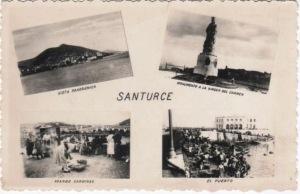 11 cuatro postales en una