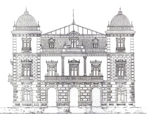 Alzado (fachada principal)
