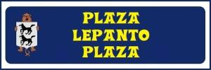Plaza de Lepanto (no hay placa)